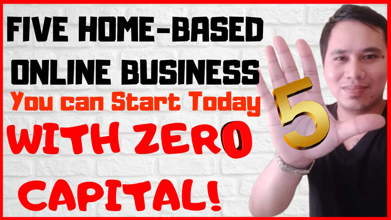 five home-based online business