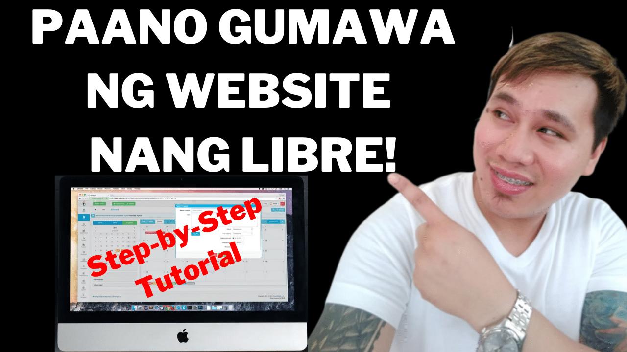 paano gumawa ng website nang libre