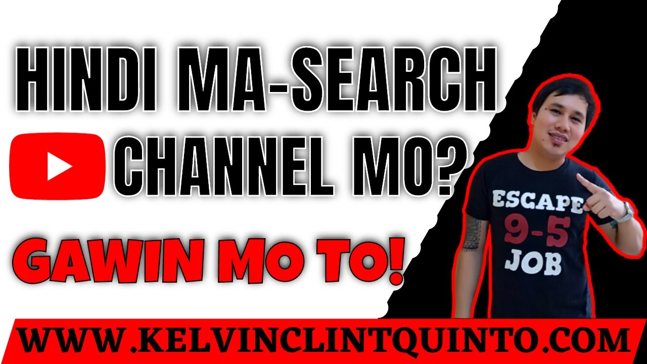 hindi ma search ang youtube channel