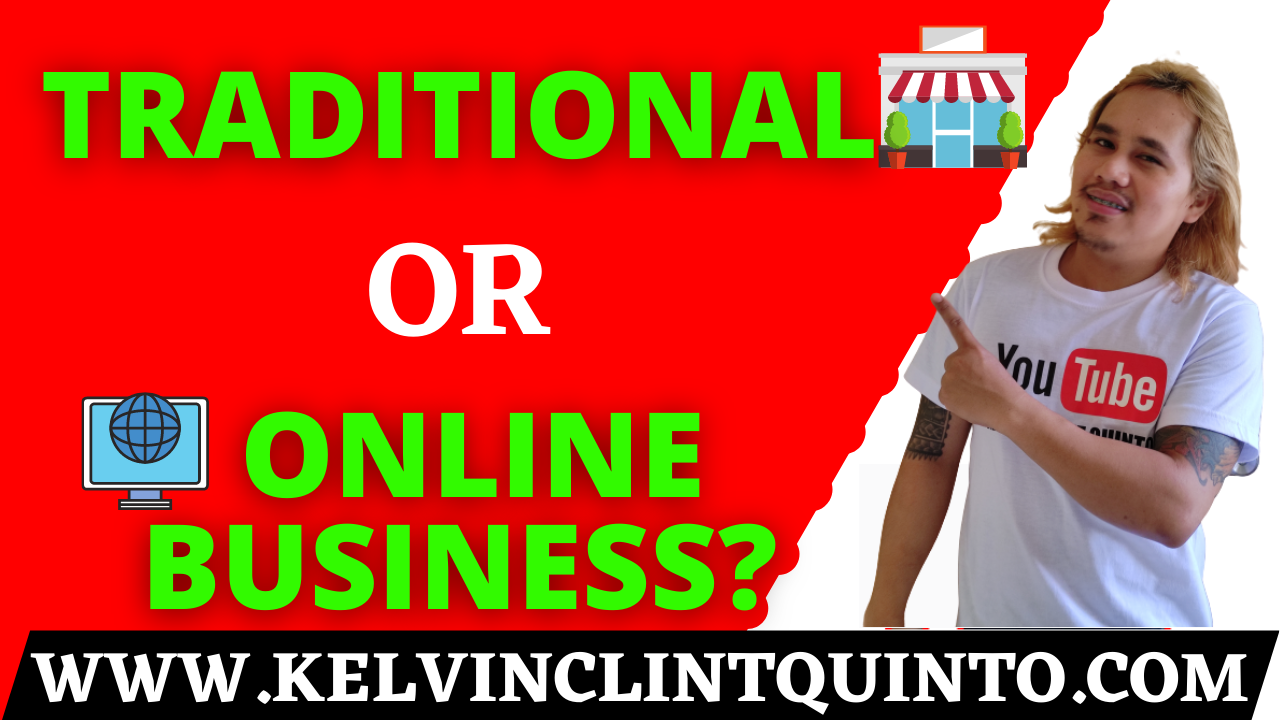traditional or online business